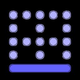 Bottom-border Icon