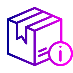 Box, Package, Parcel, Logistic, Delivery, Identity, Information Icon