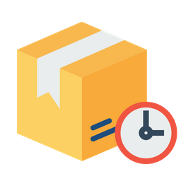 Box, Package, Parcel, Logistic, Delivery, Ontime, Urgent Icon png