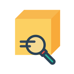 Box, Package, Parcel, Logistic, Delivery, Search, Find Icon