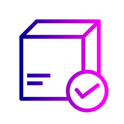 Box, Package, Parcel, Logistic, Delivery, Verify, Trust Icon