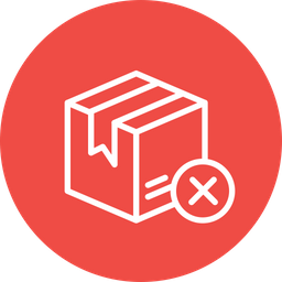 Box, Package, Parcel, Logistic, Delivery, Wrong, Pack Icon png