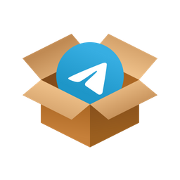 Box telegram Icon