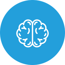Brain, Neuroscience, Brainstorming, Mind, Medical, Neurology Icon