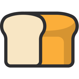 Bread, Food, Diet, Bake, Nutrition, Bakery Icon