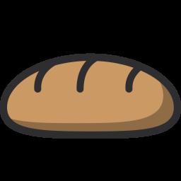 Bread, Food, Nutrition, Bakery Icon