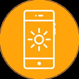 Bright, Brightness, Contrast, Ui, Flash, Interface Icon