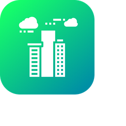 Building, Hotel, Lodge, Luxury, Sky, High, Place Icon