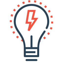 Bulb, Idea, Imagination, Light, Lamp, Innovation, Energy Icon