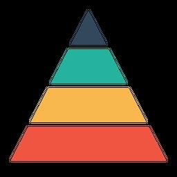 Business, Company, Finance, Planning, Pyramid, Chart, Statics, Future Icon