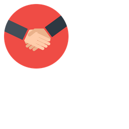Business, Cooperation, Handshake, Hand, Partners, Deal Icon