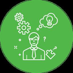 Business, Idea, Innovation, Plan, Strategy, Businessman, Creativity Icon