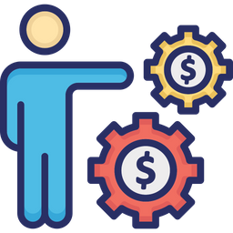 Business Manager Icon Of Colored Outline Style Available In Svg Png Eps Ai Icon Fonts