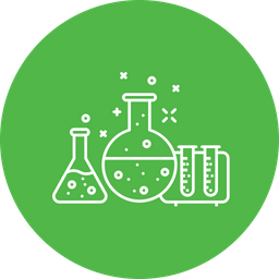Business, Market, Research, Experiment, Chemistry, Vial Icon