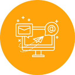 Business, Promotion, Social, Media, Email, Marketing Icon