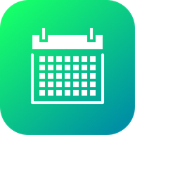 Calendar, Date, Year, Event, Schedule, Link, Holiday Icon
