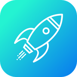 Campaign, Launch, Startup, Boostup, Rocket, Launching, Mission Icon