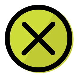 Cancel Icon Of Colored Outline Style Available In Svg Png Eps Ai Icon Fonts