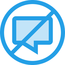 Cancel, Chat, Close, Message, No, Ui, Notification Icon