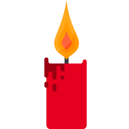 Free Candle Flame Decoration Light Christmas Xmas Icon Download