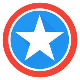 Captain, America, Marvel, Superhero, Earth, Saver, Avenger Icon