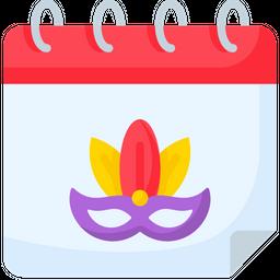 Carnival Date Icon