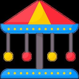 Carousel Flat Icon