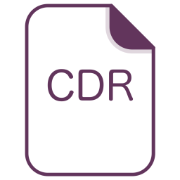 Cdr, Coral, File, Document, Extension, Filetype Icon