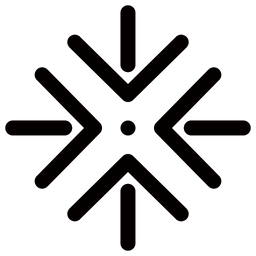 Center Arrow Icon