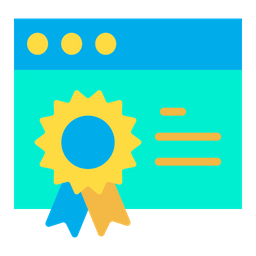 Certified Website Icon
