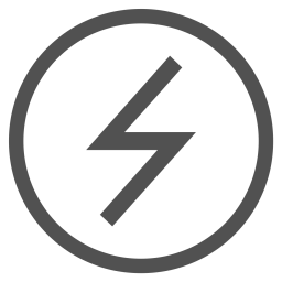 Charge, Electricity, Lightning, Battery, Power, Circle Icon