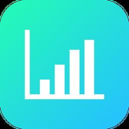Chart, Graph, Analysis, Statics, Column, Network Icon