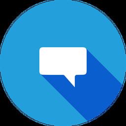 Chat, Bubble, Talk, Message, Communication, Comment Icon
