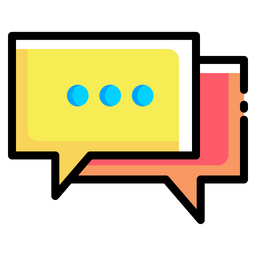 Chat Icon Of Colored Outline Style Available In Svg Png Eps Ai Icon Fonts
