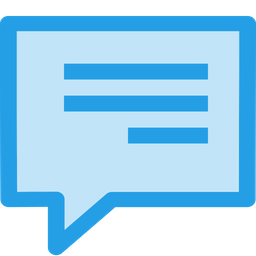 Chat, Text, Message, Chatting, Talk, Notification Icon