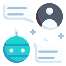 Chatbot Flat Icon