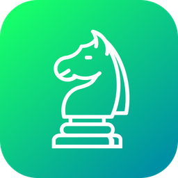 Chess, Game, Knight, Horse, Strategy, Statics, Move Icon