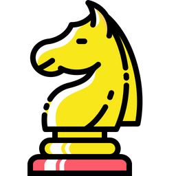 Chess, Game, Mind, Knight, Horse Icon