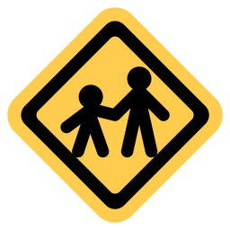 Child, Crossing, Pedestrian, Traffic Icon png