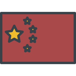 China Flag Icon Of Colored Outline Style Available In Svg Png Eps Ai Icon Fonts