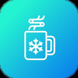Chocolate, Cup, Mug, Hot, Drink, Christmas, Xmas Icon