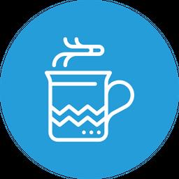 Chocolate mug Icon