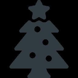 Christmas, Tree, Decoration, Xmas, Star Icon