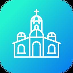 Church, Jesus, Holy, Place, Christmas, Prayer Icon