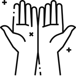Clean Hands Icon Of Line Style Available In Svg Png Eps Ai Icon Fonts