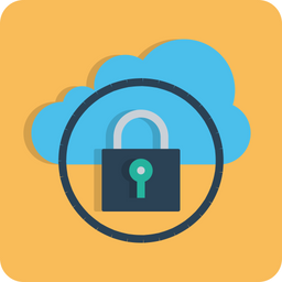 Cloud, Data, Optimization, Secure, Lock, Safe, Protected Icon png