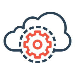 Cloud, Data, Optimization, Settings, Security, Management, Preferences Icon