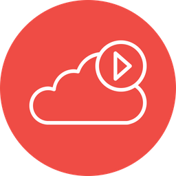 Cloud, Media, Play, Video, Audio, Streaming, Soundcloud Icon