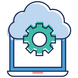 Cloud Settings Icon