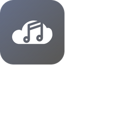 Cloud, Storage, Online, Data, Big, Database, Music Icon